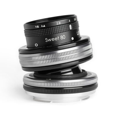 Lensbaby Composer Pro II met Sweet 80 objectief Micro Four Thirds