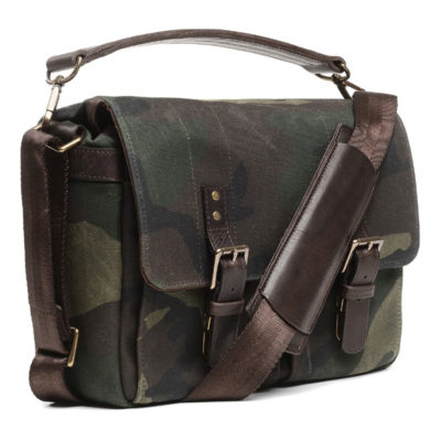 ONA The Prince Street Camo Fabric Messenger Bag Limited Edition