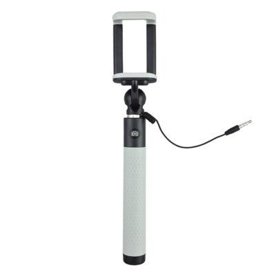 Caruba Selfie Stick Plug & Play Grijs