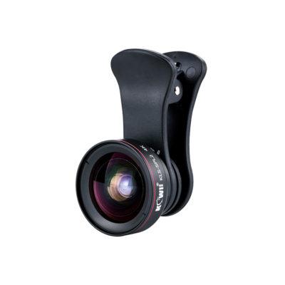 JJC Wide Angle & Macro Lens voor smartphone Black