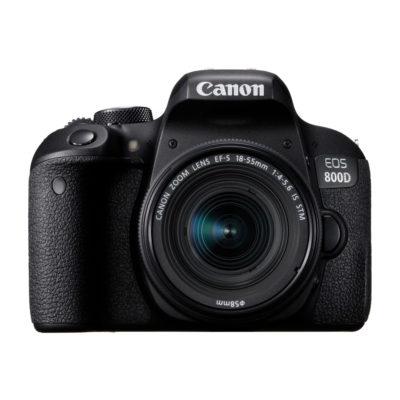 Canon EOS 800D DSLR + 18-55mm f/4.0-5.6 IS STM open-box