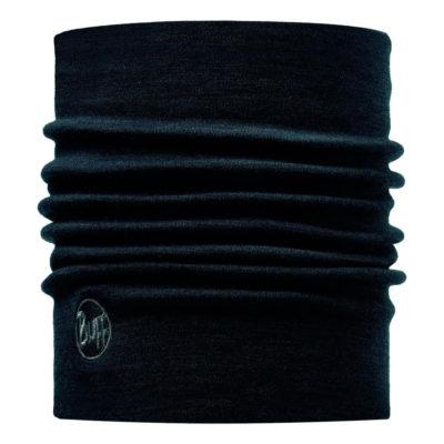 Buff Merino Wool Buff Solid Black - Heavyweight