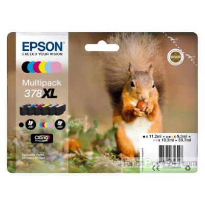 Epson Inktpatroonset voor T378-serie XL (6-Pack)
