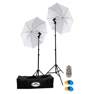 Savage 500 Watt LED Studio Light Kit (met afstandsbediening)
