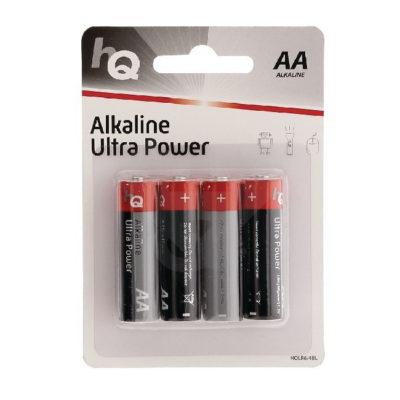 HQ Alkaline AA-batterijen - 4 stuks
