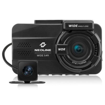 Neoline Wide S49 Dual Channel dashcam