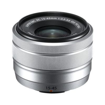 Fujifilm XC 15-45mm f/3.5-5.6 OIS PZ objectief Zilver