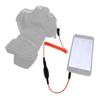 Miops Smartphone Afstandsbediening MD-N2 met N2 kabel voor Nikon