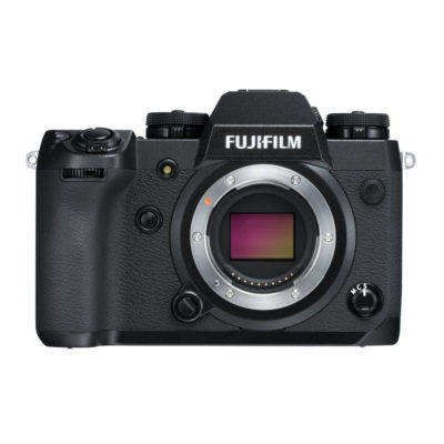 Fujifilm X-H1 systeemcamera Body Zwart