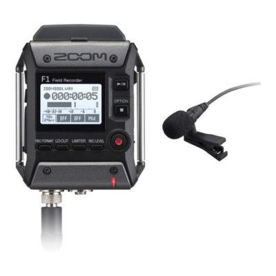 Zoom F1 Field Recorder + Lavalier microfoon
