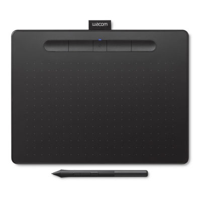 Wacom Intuos Comfort Plus Medium tekentablet Black