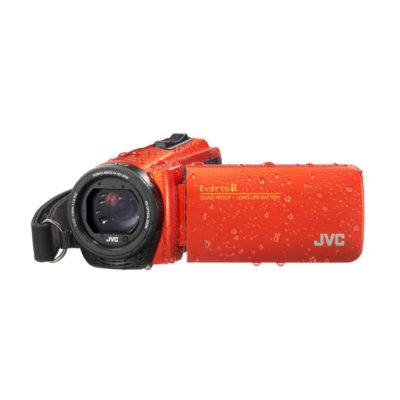 JVC GZ-R495 videocamera Oranje Essentials Kit