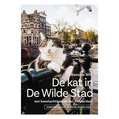 De kat in de Wilde Stad, een beestachtige ode aan Amsterdam - Koos de Wilt