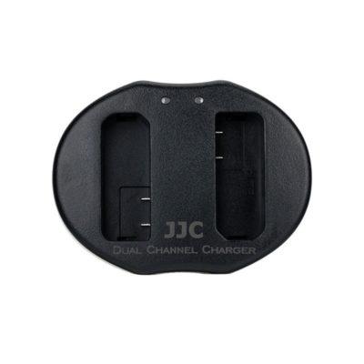 JJC UCH-EN-EL14 USB Dual Battery Charger (voor Nikon EN-EL14 accu)