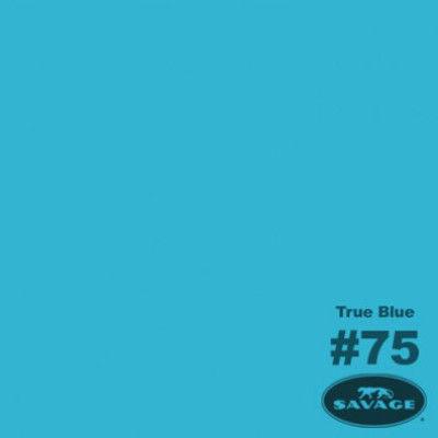 Savage Achtergrondrol True Blue (nr 75) 2.18m x 11m