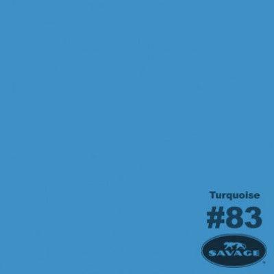 Savage Achtergrondrol Turquoise (nr 83) 2.18m x 11m