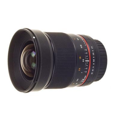 Samyang 24mm f/1.4 ED AS UMC Nikon AE objectief - Occasion