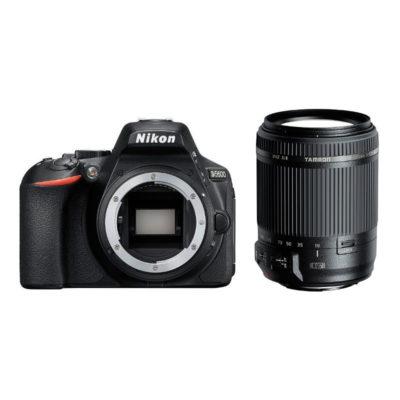 Nikon D5600 DSLR Zwart + Tamron 18-200mm f/3.5-6.3 Di II VC