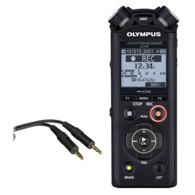 Olympus LS-P4 Video Kit met KA-334 kabel en Hotshoe
