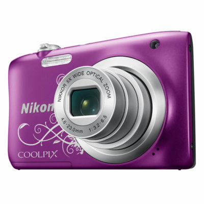 Nikon Coolpix A100 compact camera Paars Lineart