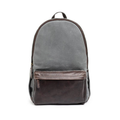 ONA The Clifton Leather Smoke Backpack