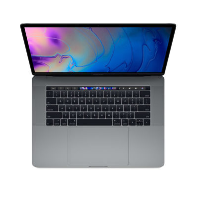 Apple MacBook Pro 15-inch Touch Bar 6-core i7 2.6GHz 512GB Space Grey (MR942N/A)