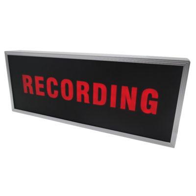 "Caruba Backlit LED Sign ""RECORDING"""