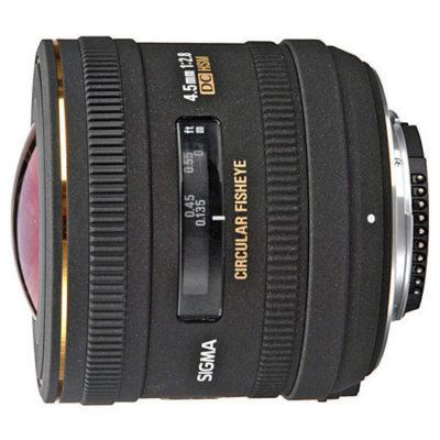 Sigma 4.5mm f/2.8 EX DC HSM Fisheye Canon objectief - Occasion