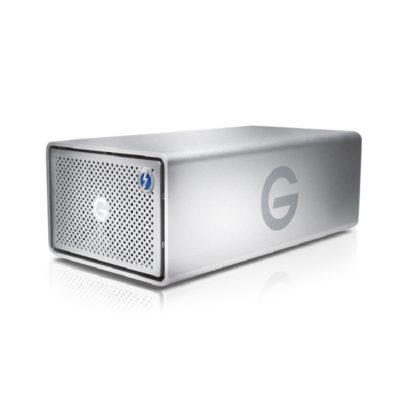 G-Technology G-Raid Removable 20TB Thunderbolt 3 & USB 3.1 harde schijf