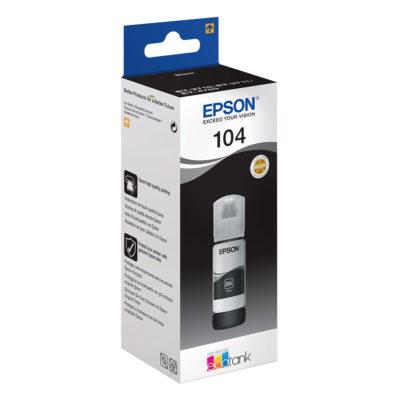 Epson EcoTank Inktfles 104 Zwart 70ml
