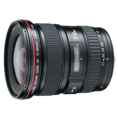 Canon EF 17-40mm f/4.0L USM objectief open-box