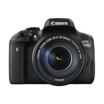 Canon EOS 750D DSLR + 18-135mm open-box
