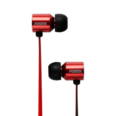Fostex TE-03R In-Ear Stereo oordoppen Rood