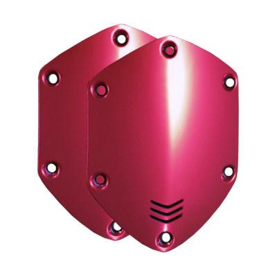 V-Moda On-Ear Shield Plates Crimson Red