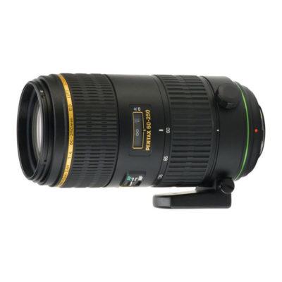 Pentax SMC DA 60-250mm f/4.0 ED objectief - Demomodel