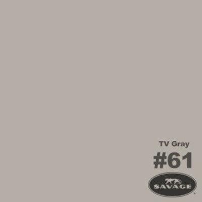 Savage Achtergrondrol TV Grey (nr 61) 2.75m x 11m