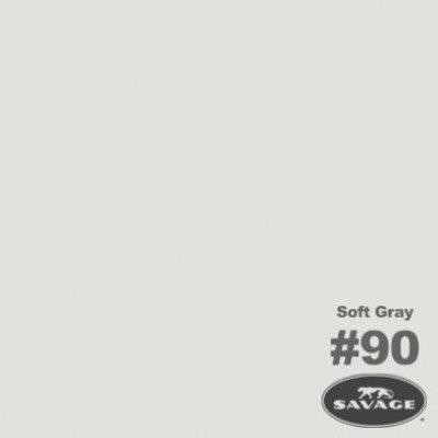 Savage Achtergrondrol Soft Grey (nr 90) 2.75m x 11m