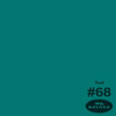 Savage Achtergrondrol Teal (nr 68) 2.75m x 11m