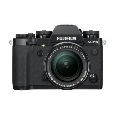 Fujifilm X-T3 systeemcamera Zwart + 18-55mm f/2.8-4.0 OIS