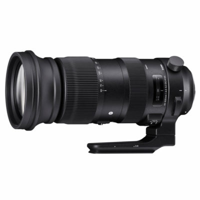 Sigma 60-600mm f/4.5-6.3 DG OS HSM Sports Canon EF-mount objectief