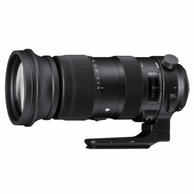 Sigma 60-600mm f/4.5-6.3 DG OS HSM Sports Nikon F-mount objectief