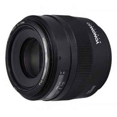 Yongnuo YN 50mm f/1.4 Canon objectief