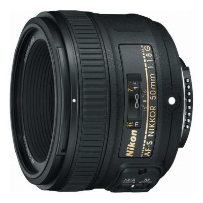 Nikon AF-S 50mm f/1.8G objectief