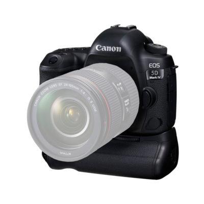 Canon EOS 5D Mark IV DSLR Body + BG-E20 Battery Grip