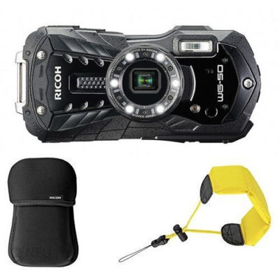 Ricoh WG-50 compact camera Kit Zwart