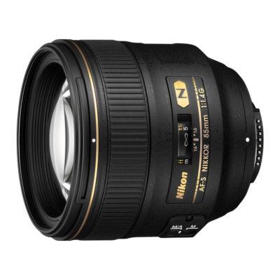 Nikon AF-S 85mm f/1.4G objectief