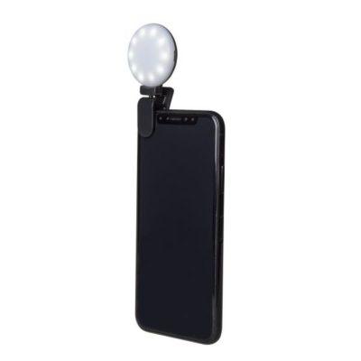 Celly Selfie Flash Light Black