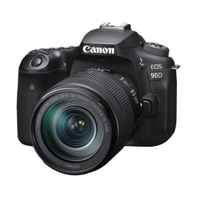 Canon EOS 90D DSLR + 18-135mm IS USM