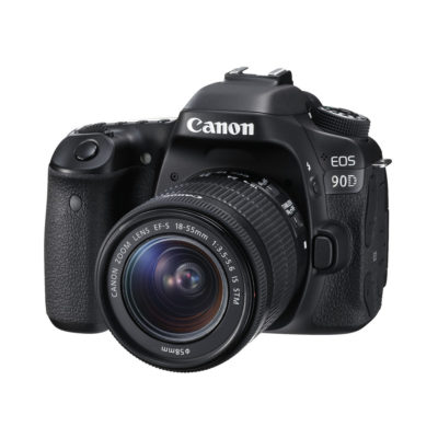 Canon EOS 90D DSLR + 18-55mm IS STM