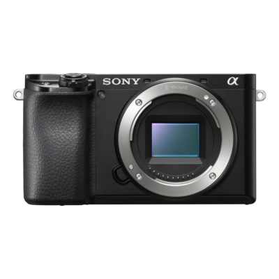 Sony Alpha A6100 systeemcamera Body Zwart (ILCE6100B.CEC)